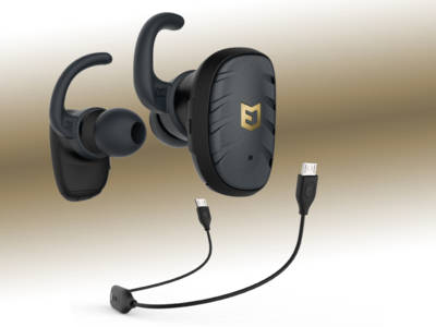 ELWN Fit Earbuds Truly Wireless Hybrid Concept Lasts Longer