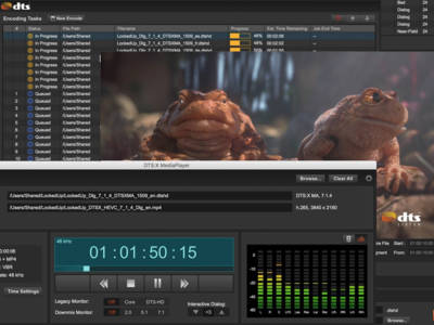DTS Announces New DTS:X Encoder and DTS:X MediaPlayer for Blu-ray Disc, Ultra HD Blu-ray or Streaming Media Creation