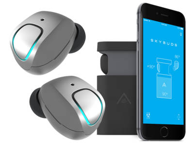 Wearables 2016 CES Innovation Awards Honoree Skybuds Wireless Earbuds On Pre-Sale