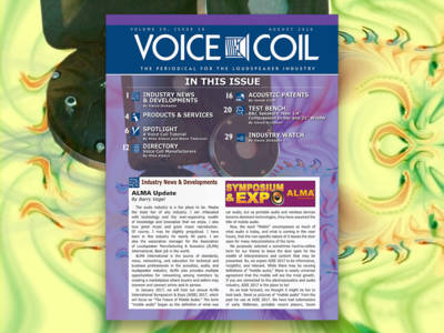 Learn About Voice Coils in Voice Coil August 2016. Now Available!