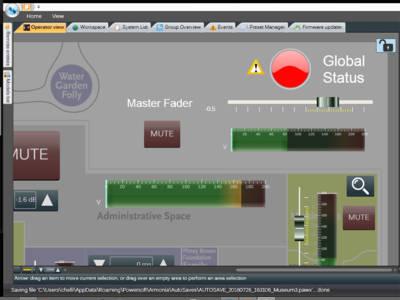 New Powersoft Armonía v2.8 Allows Advanced Workspace Customization