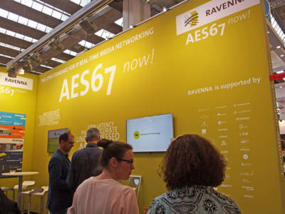 Strong Showing for RAVENNA Audio-Over-IP Solutions at IBC 2016
