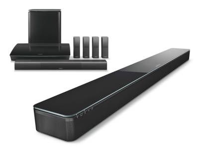 Bose Introduces New Wireless Soundbar and Surround Sound Systems