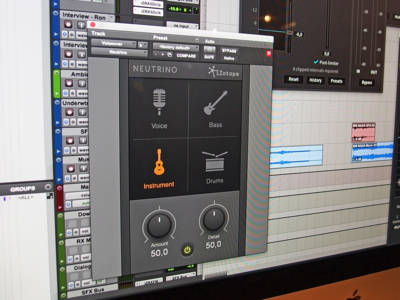 Free Neutrino Plug-in Unleashes New iZotope Audio Processing Technology