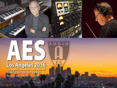 141st AES International Convention in Los Angeles is Largest Audio Industry Event of the Year
