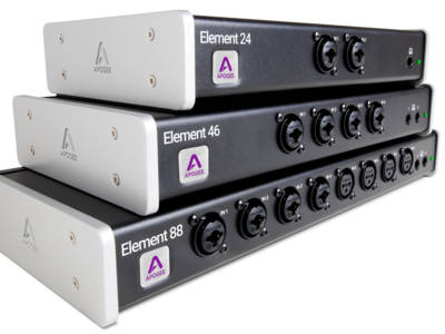 Apogee Introduces Element Series Thunderbolt Audio Interfaces