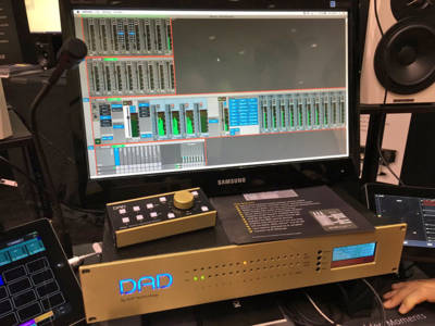 Digital Audio Denmark (DAD) Cooperation with Dynaudio and Avid