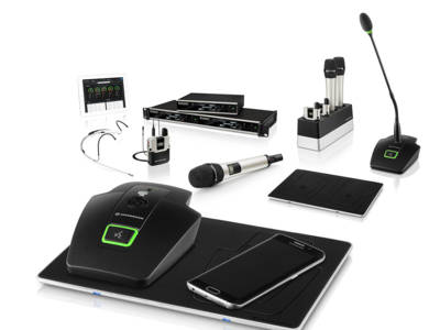 Sennheiser Expands SpeechLine Digital Wireless Range