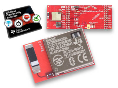 Texas Instruments Expands Portfolio of Wireless Connectivity Modules with SimpleLink Bluetooth LE