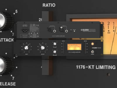 """Klark Teknik Introduces """"Homage"""" 1176-KT Classic Compressor"""