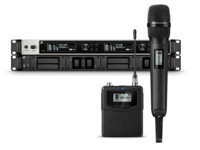 Sennheiser Announces New Digital 6000 Series Advanced Wireless Microphone System