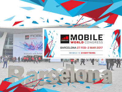 The Future of Mobile at the 2017 Mobile World Congress in Barcelona