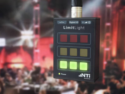 Simple Live Sound Monitoring with Limit Light for NTi's XL2 Audio and Acoustic Analyzer