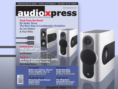 Get Ready for What's Coming with audioXpress January 2017!
