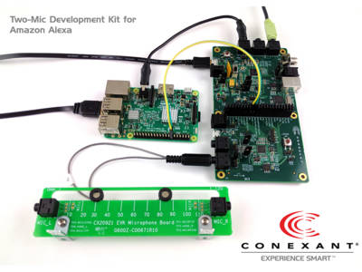 Arrow Electronics and Conexant Systems Collaboration on Development of Amazon Alexa-Enabled Smart Home Products