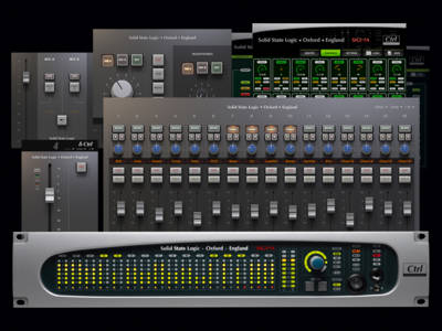 SSL Announces New Features for Sigma δelta Remote Controlled Analogue Summing Mixer