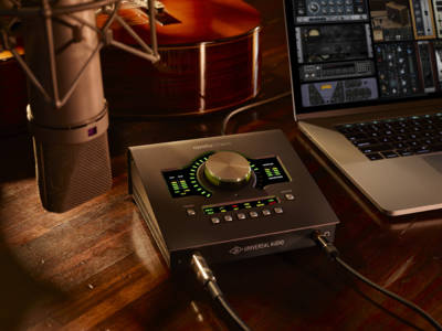 Universal Audio Unveils New Apollo Twin MkII Desktop Audio Interface for Mac and Windows
