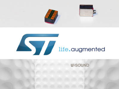 STMicroelectronics To Manufacture USound's Patented Thin-Film Piezo-Electric MEMS Micro-Speaker Technology