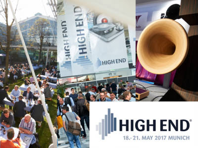Let The Music Play! High End 2017 Will be the Largest and Most Vibrant Ever!