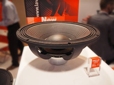"Lavoce Italiana Launches SAN214.50 21"" Neodymium Magnet Subwoofer at Prolight+Sound 2017"