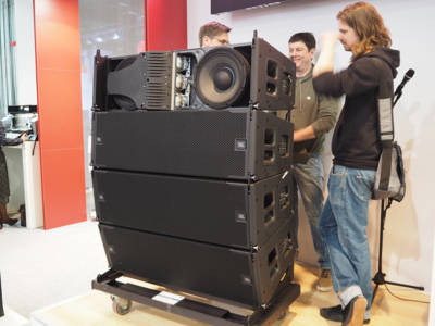 JBL Professional New VTX A12 Line Array Introduced at Prolight+Sound 2017