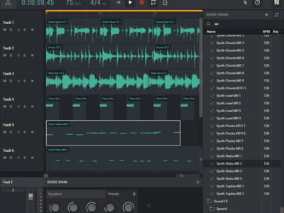 New Amped Studio Free Hybrid Digital Audio Workstation