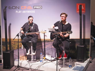 JBL Professional Introduces the EON One Pro Rechargeable All-in-One Portable PA