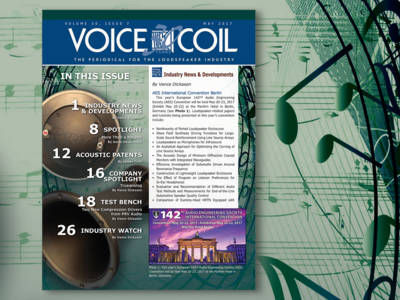 Get to Know Loudspeakers Inside and Out with Voice Coil May 2017