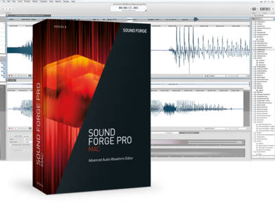 MAGIX Releases Sound Forge Pro Mac 3 and Announces New Versions for 2017