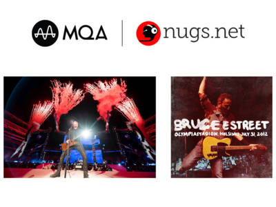 Live Concerts Now Available in MQA Through Nugs.net Music Delivery And Webcast Platform