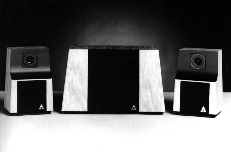 Triad's popular System One speaker system was first shown in Chicago, IL, in June 1982.