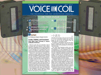 Improve Loudspeaker Performance with Voice Coil May 2016