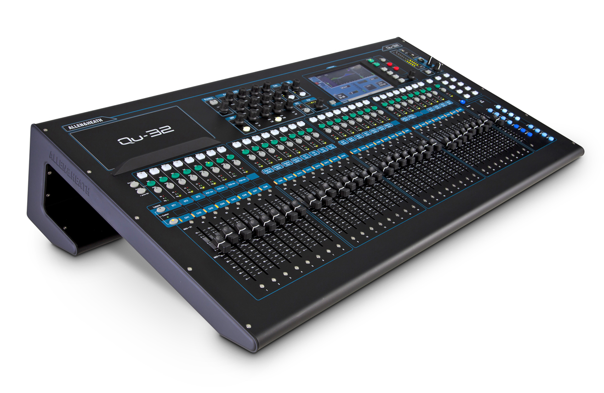 Allen Heath New Qu 32 Digital Mixing Console Audioxpress Audio Mixers Projects Circuits 7 And The Renowned Ilive Fx Library To Deliver Class Leading Quality It Comes With A Larger Touchscreen 33 Motorised Faders