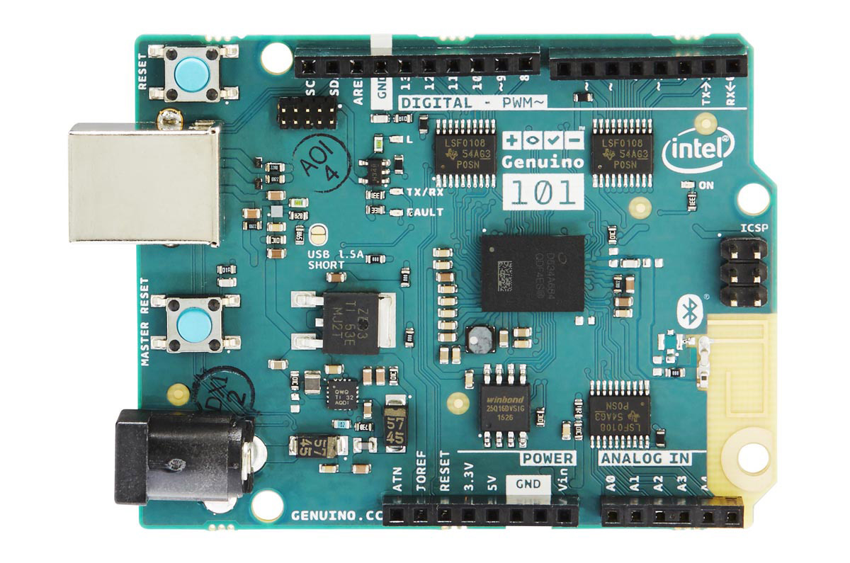 Intel powered arduino development board offers advanced