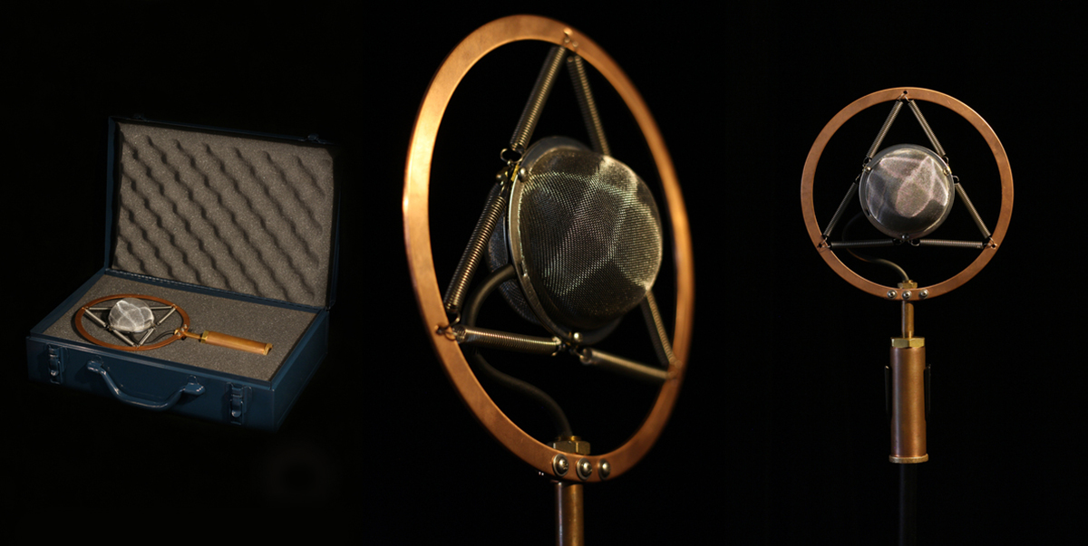 Ear Trumpet Labs Introduces New Josephine Stage Microphone
