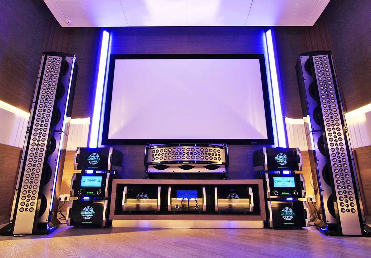 Mcintosh new mx160 a v processor combines uhd dolby atmos for Wallpaper home theater
