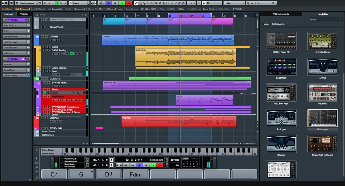 Как сделать музыку в кубейсе