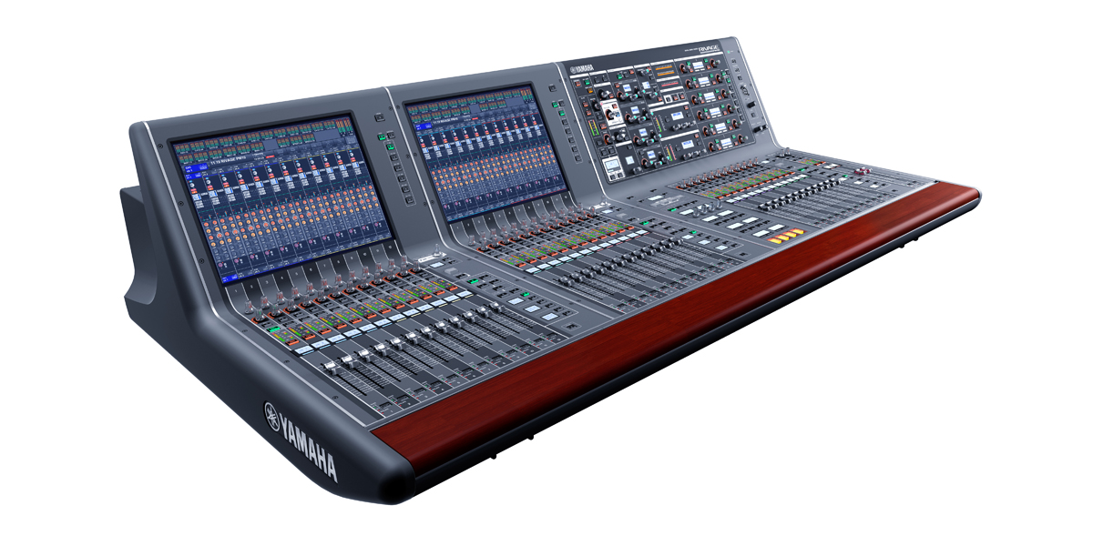 Yamaha rivage pm10 new generation large format digital for Yamaha live console
